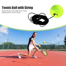 Tennis-Balls String-Replacement Rubber with for Beginner Multi-Function Woolen Durable