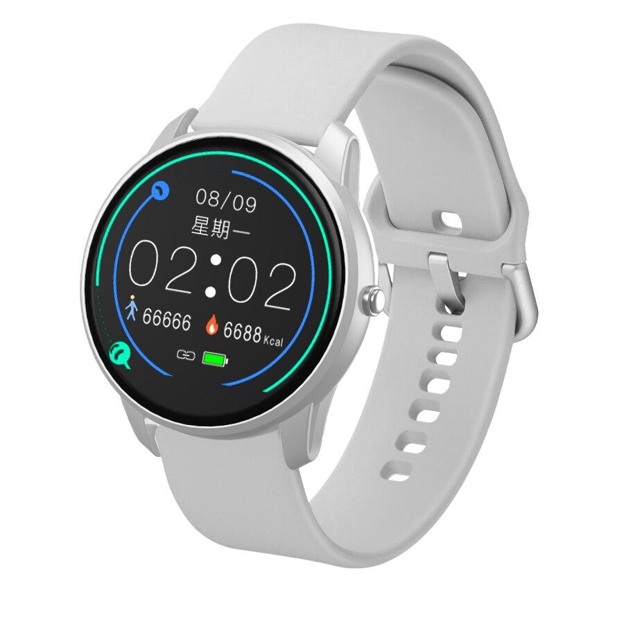 Femmes montre intelligente Sport montre étanche moniteur de fréquence cardiaque couleur écran Bluetooth montre-bracelet Fitness Tracker pour Android IOS 6