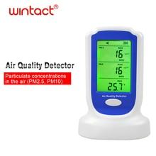 Air Quality Detector,Home Indoor Digital Gas Analyzer Tester Meter PM2.5 PM10 Air Quality Monitor Sensor цены