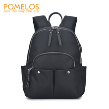 POMELOS Casual Backpack Women USB Charging Backpack Travel 2019 New High Quality Oxford School Backpack Bags For Teenage Girls pomelos fashion women backpack 2019 new in travel backpack high quality oxford school bags for teenage girls woman backpack bag
