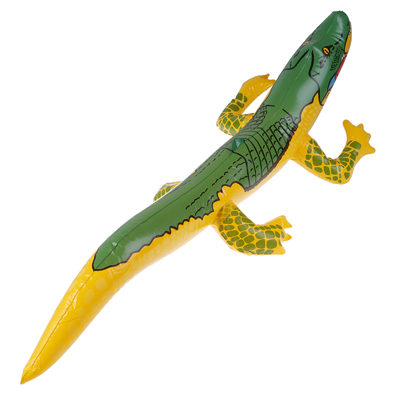 Beach Swimming Pool Inflatable ToysSummer Inflatable Crocodile Blow Up Funny Water Toy Alligator Balloon