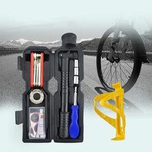 Инструмент для ремонта велосипеда комбинированный насос шин
