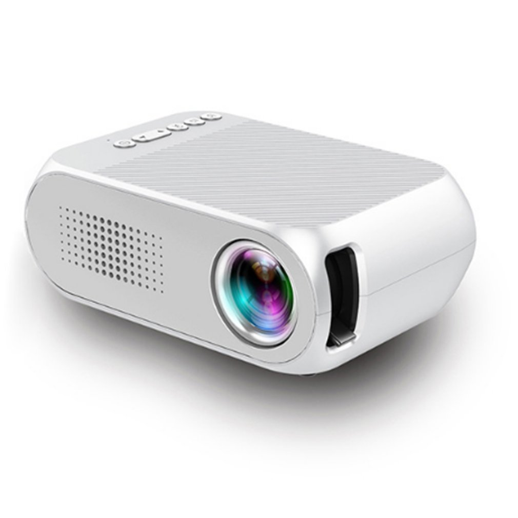Professional YG320 LED Video Digital Home Theater Portable Smart 1080P Movie Projector For Home Theatre US EU AU UK Socket