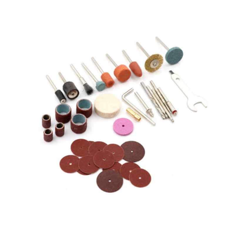 40 Piece Set Rotary Tool Grinding Polishing Dics Mini Electric Drill Grinder Tool Accessory  Power Tool Accessories