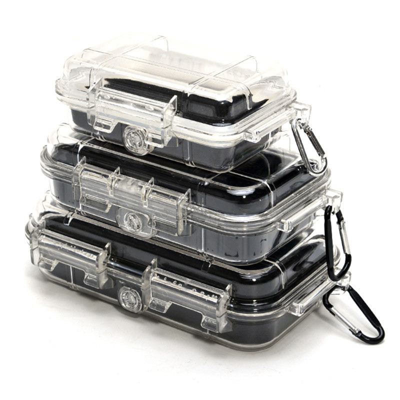 Outdoor Waterproof Safety Case Shockproof Sealed ABS Plastic Tool Dry Box Safety Equipment Dry Box Caja De Herramienta