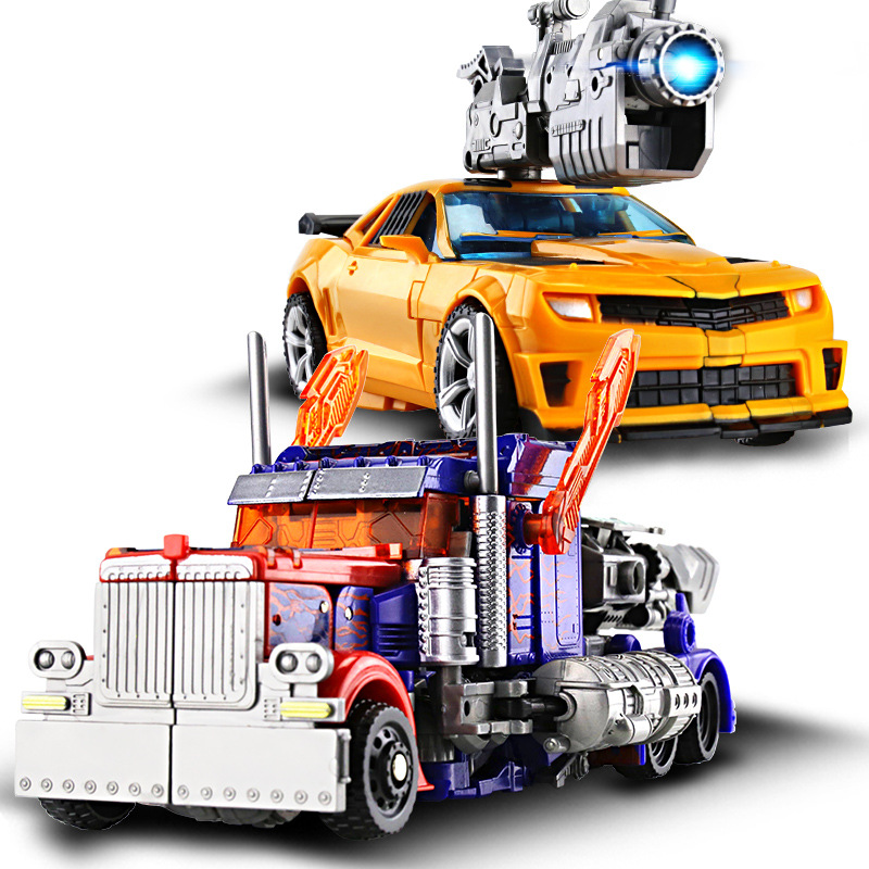 <font><b>4</b></font> Style Anime <font><b>Transformation</b></font> Car Robot <font><b>Toys</b></font> PVC Action Figure Brinquedos Car Robot Classic Model <font><b>toys</b></font> For Children <font><b>Toys</b></font> Gift image