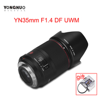 YONGNUO YN35mm F1.4C DF UWM Camera Lens AF MF 35mm F1.4 Ultrasonic Wave Motor Wide Angle Prime Lens for Canon 70D 7D 6D 5D 70D