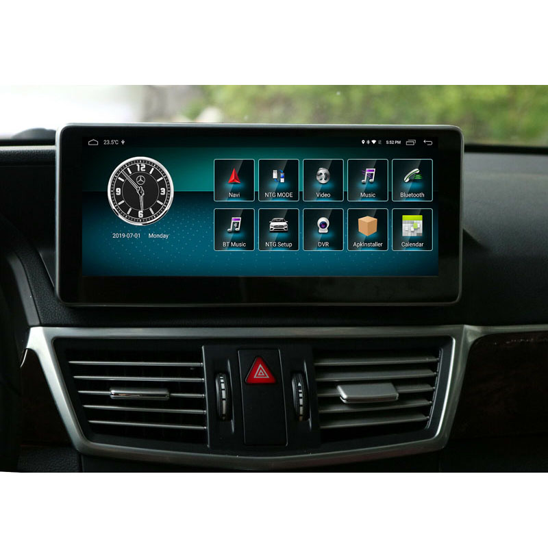 10.25 inch 4+64G <font><b>Android</b></font> Display for Mercedes <font><b>Benz</b></font> E Class <font><b>W212</b></font> 2010-2016 Car Radio Screen with GPS Navigation image