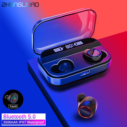 Touch Control X11 TWS Wireless Earphone Bluetooth 5.0 Earphones Power Display with Charging Box Sport Stereo Cordless Earbuds