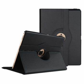 2015/2017 360 Degrees Rotating PU Leather Flip Cover Case For iPad Pro 12.9 Case Smart Tablet Case Auto Sleep / Wake A1670 A1584
