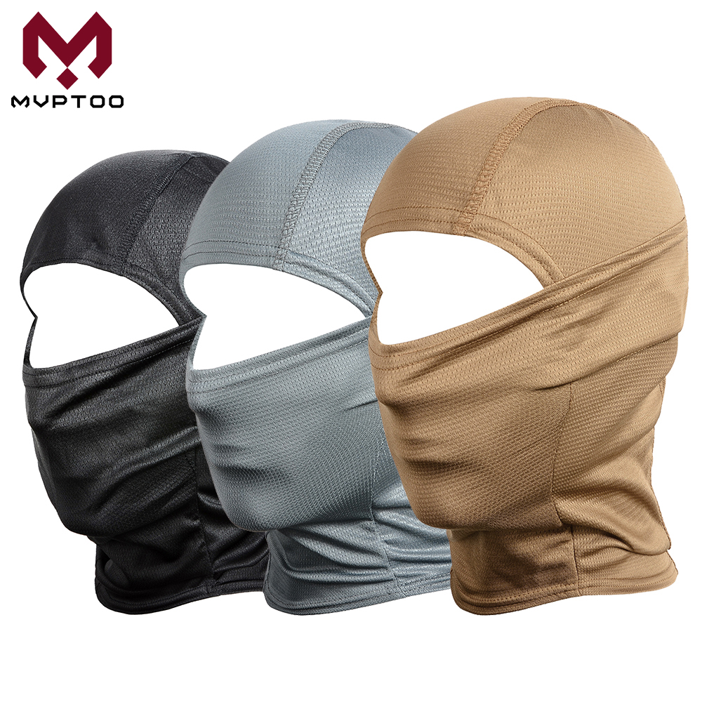 Camouflage Motorcycle Balaclava Military Tactical Full Face Mask Moto Paintball Hunting Fishing Army Bike Helmet Liner Hat Cap