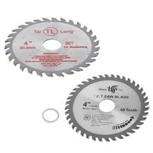 цена на 4 inch 40T Circular Saw Blade Wood Cutting Round Discs Sawing Cutter Tools Drop ShipDrop ship