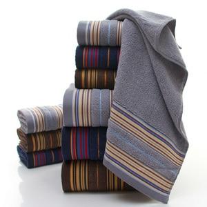 Image 4 - GIANTEX 3 Stück Baumwolle Handtuch Set Bad Super Absorbent Bad Handtuch Gesicht Handtücher Für Erwachsene serviette de bain toallas recznik