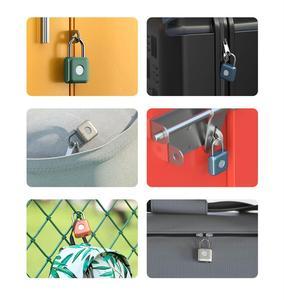Image 5 - Умный дверной замок Youpin Kitty со сканером отпечатков пальцев, USB зарядка, без ключа, защита от кражи, навесной замок, Дорожный Чехол, ящик, замок безопасности