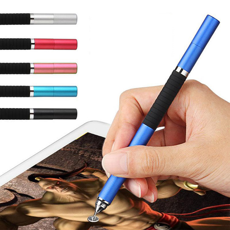 Universal 3 In 1 Stylus Capacitive Touch Screen Pen Tablet Active Touch Pen Draw Write For Ipad For Android Tablet Cellphone