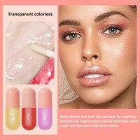 SANIYE Fruity Lip Gloss Mini Capsule Transparent Waterproof And Long Lasting Moisturizing Lip Gloss Plump Lipstick Makeup L1159 4