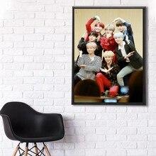 kpop koren band posters Bangtan Sonyeondan poster    Kim Namjoon    Seokjin  Jimin  Jungkook   Home posters Decorative painting top posters холст королевский мундштук top posters 50х50х2см r 1000h