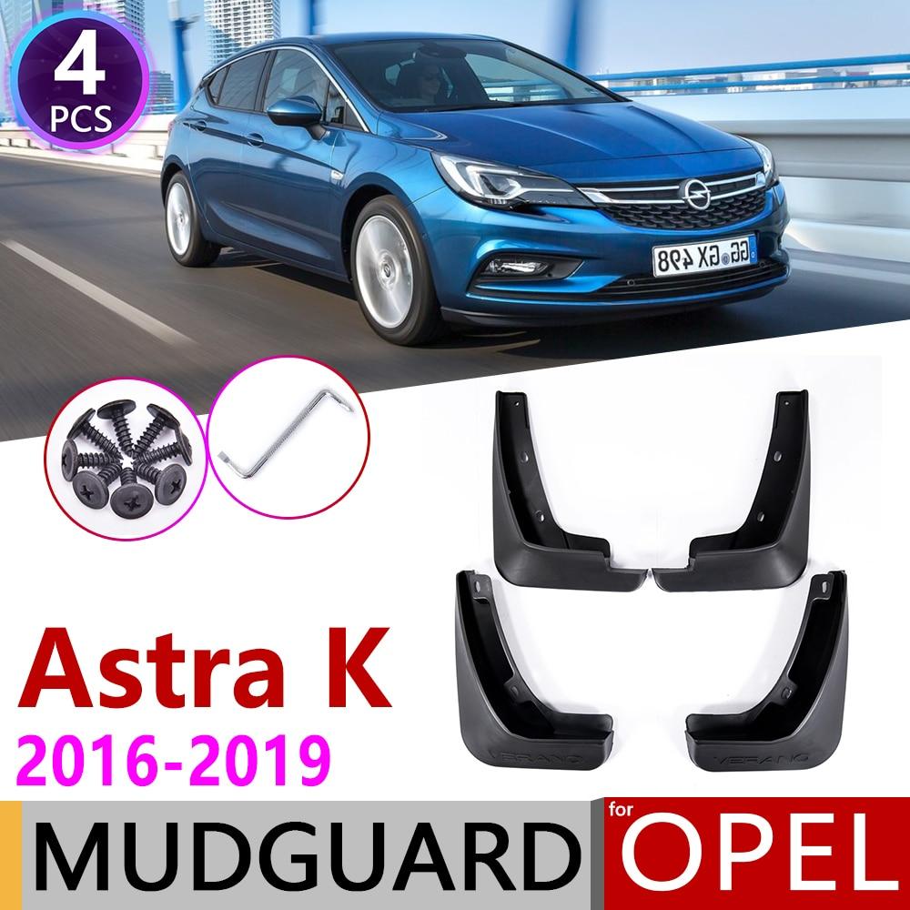 For Opel Vauxhall Astra K 2016 2017 2018 2019 Car Mudflaps Fender Mud Guard Splash Flaps Mudguards Accessories Holden Verano