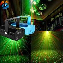 Mini projetor laser portátil recém remoto, luzes de laser portátil rg galaxy com meteoros para festa em casa dj, iluminação de palco