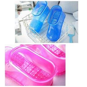 Image 4 - 1 par de pé banho massagem botas relaxamento tornozelo embeber banho terapia massageador sapatos acupoint sola portátil casa pés cuidados ferramentas