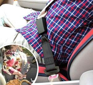 """Image 5 - E11 certyfikat bezpieczeństwa 14 """"nylonowa taśma pas bezpieczeństwa do samochodu Extender rozszerzenie klamra wtyczka klip dla ciężarnych 7/8 metalowy język"""