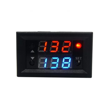 Taidacent 2 Pieces 12V 20A Relay Timing Delay On and Off Repeat Cycle Timer Relay Dual LED Display Digital Timer Relay Switch dc 12v 24v ac 110v 220v cycle time timer delay relay led dual digital display timing adjustable power supply thermolator