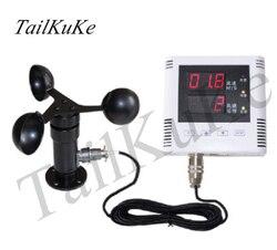 RS485 Gru A Torre Regolatore di Allarme di Velocità del Vento Anemometro Sensore Anemometro