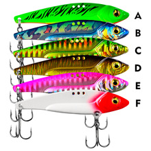 Hot New Multi Fishing Lure 12g Mixed Colors Plastic Metal Bait Soft Kit Tackle Wobbler Artificias Fish