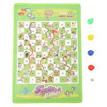 S/L Размер змея лестница полет шахматы игрушка набор портативный родитель-ребенок Интерактивная смешная настольная игра семейные вечерние игры для детей и взрослых