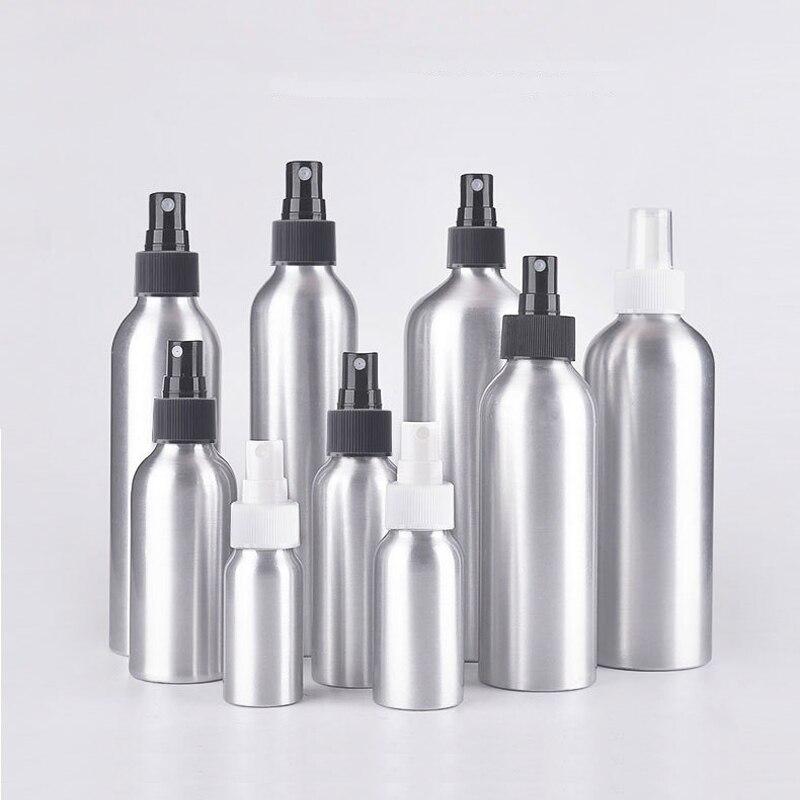 Aluminum Perfume Bottle With Spray Mini Portable Empty Refillable Perfume Atomizer Spray Bottle 30ml/50ml/100ml/120ml/150ml