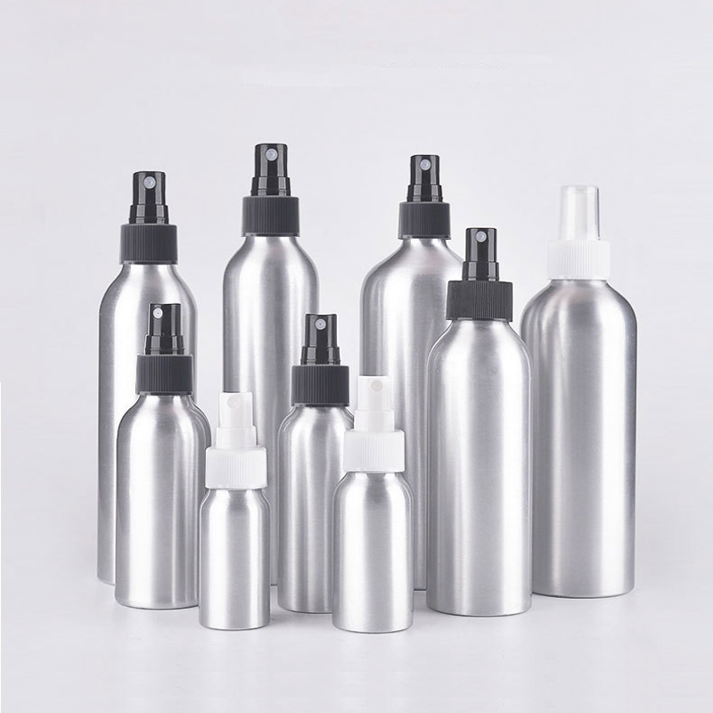 Aluminum Perfume <font><b>Bottle</b></font> With <font><b>Spray</b></font> Mini Portable Empty Refillable Perfume Atomizer <font><b>Spray</b></font> <font><b>Bottle</b></font> 30ml/50ml/100ml/<font><b>120ml</b></font>/150ml image
