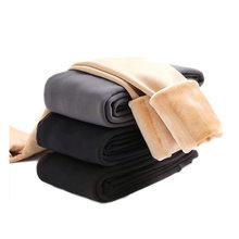 Maternidade leggings inverno veludo calças magras para grávidas roupas quentes espessamento gravidez mãe roupas