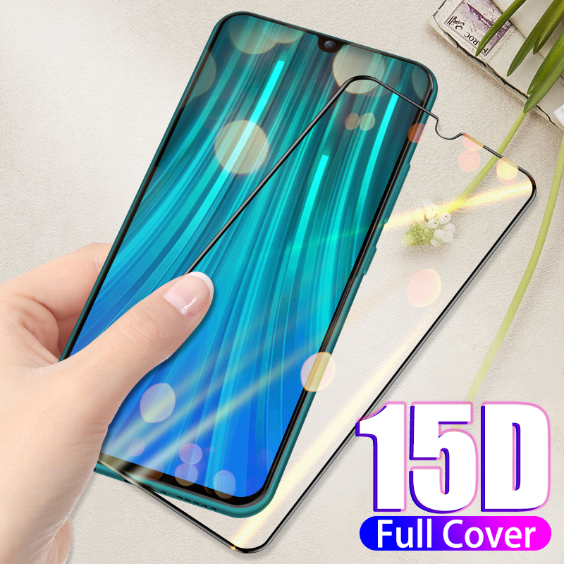 15D Full Cover Protection Tempered Glass For Xiaomi Redmi 7 7A K20 Note 7 8 Pro Mi 8 Lite Mi 8 9 SE 9T Pro Screen Protector Film