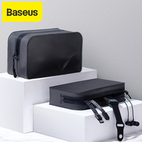 Baseus duża pojemność otrzymaniu pakiet power bank torba wodoodporna i pyłoszczelna przenośna torba do przechowywania czarny kolor