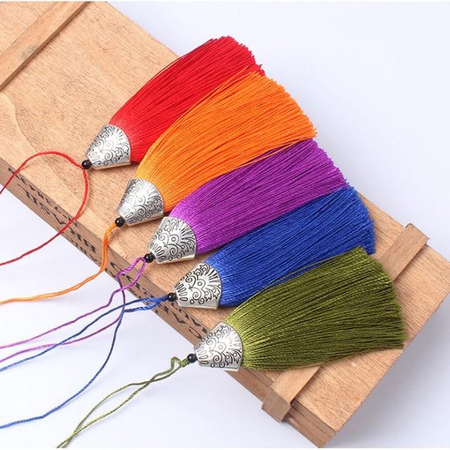 Mancherons en métal 2-8 pièces | Pendentif à frange, matériel de bricolage, cordon Polyester garniture de glande, rideaux décoratifs, glands ruban, accessoires