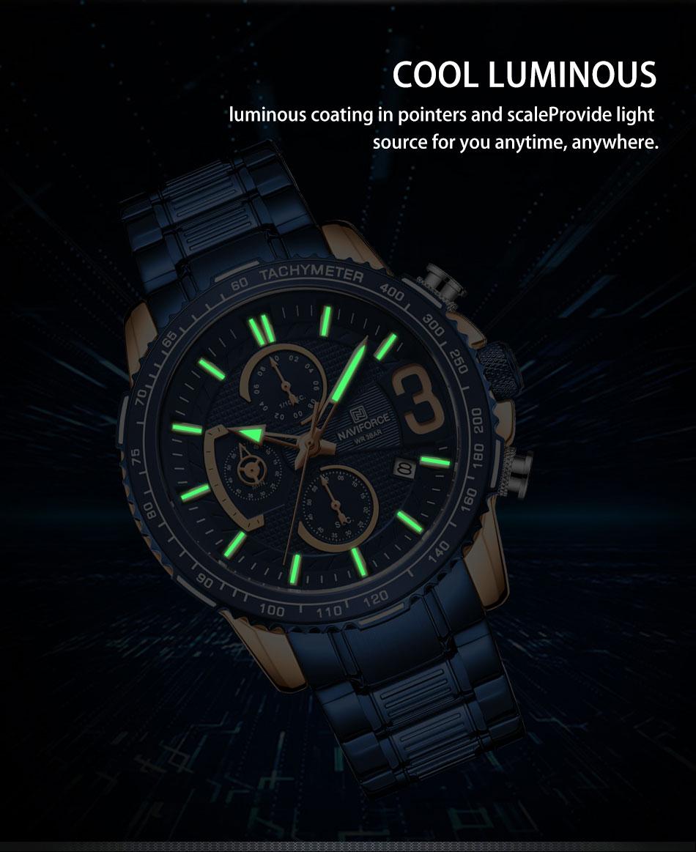 Naviforce NF 8017 Men's Watch 10