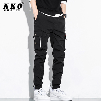 CHAIFENKO Hip Hop Cargo Pants Men New Fashion Harajuku Streetwear Multi Pocket Joggers Trousers Men Casual Harem Men Pants M-8XL