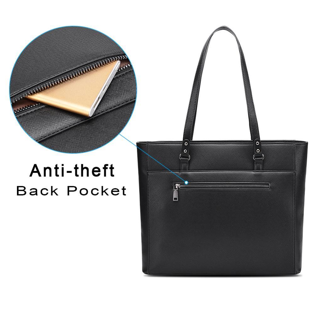 Image 4 - OSOCE laptop bag for women 15.6  briefcase  Waterproof Handbag  Laptop Tote Case luxury Shoulder Bag Office Bags for  notebookBriefcases