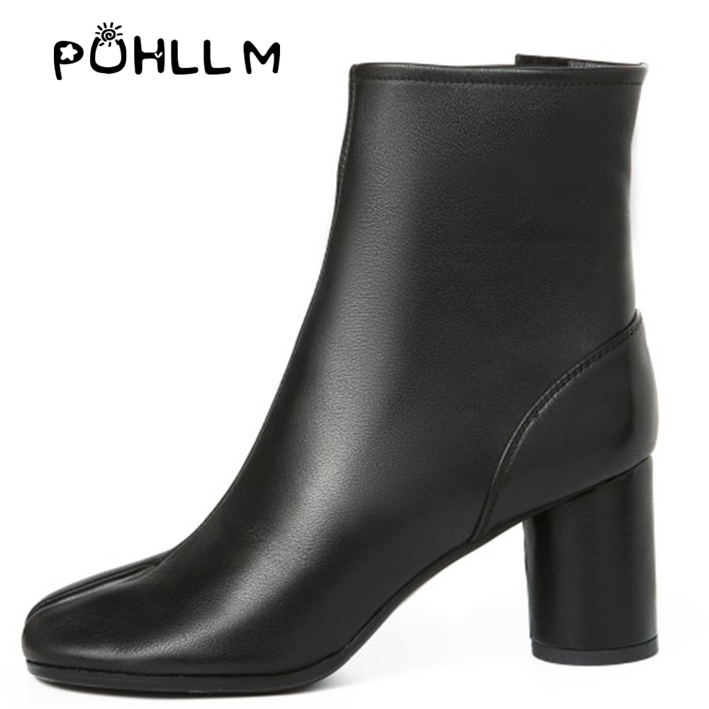 PUHLLM High Quality  Boot 2019 Winter Korean Fashion Boots Microfiber Lining Breathable Perspiration F11