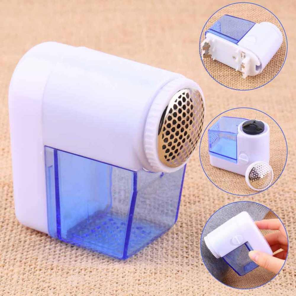 1pcs Elétrico Fuzz Pano remover Pill Lint Lã Sweater Fabric Shaver Trimmer remover as pelotas