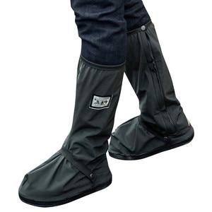 Boots Waterproof Shoe Men's Outdoors Waterproof Prevent Slippery Wearproof Shoe Cover Water Shoes Snow Rainy Days Drop ship ##5