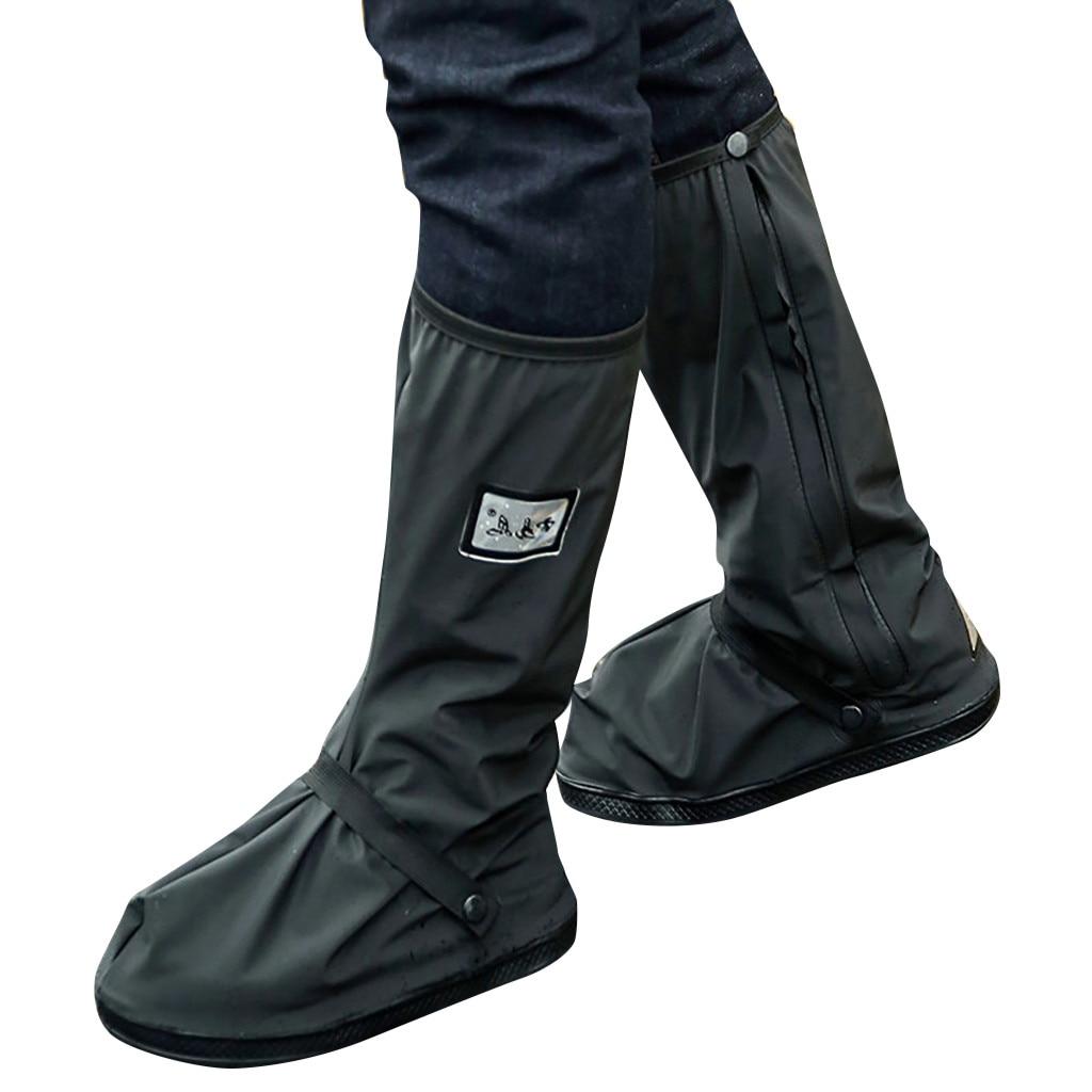 Hommes femmes en plein air couvre chaussures imperméables empêchent glissant résistant à l