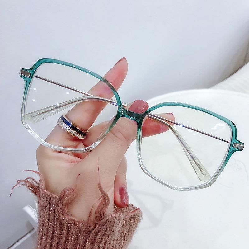 ERILLES Модные Классические солнечные очки в металлической рамки компьютер анти синий светильник очки очках очки в духе гиков очки негабаритн...