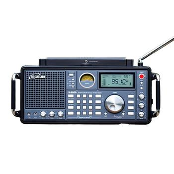 TECSUN S-2000 HAM Portable Radio SSB Dual Conversion PLL FM/MW/SW/LW Air Band Amateur 87-108MHz/76-108 MHz Internet Radio 2