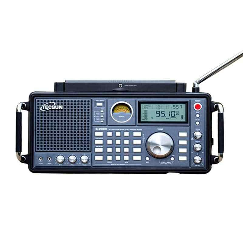 TECSUN S-2000 jamón Radio portátil SSB de conversión doble PLL FM/MW/SW/LW aire banda Amateur 87-108 MHz/76-108 MHz Radio por Internet