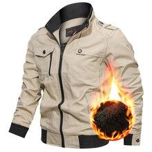 Мужские куртки в стиле милитари на весну и осень, хлопковая ветровка, пальто пилота, армейская мужская куртка-бомбер, мужские куртки для полетов, мужская одежда