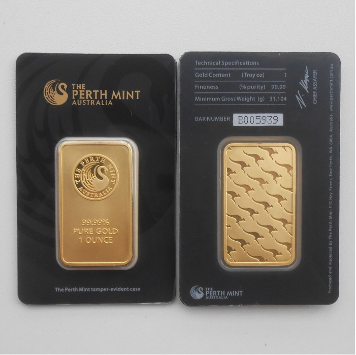 50pcs Black Perth Mint