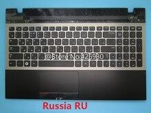 Palmrest & Tastiera del computer portatile Per Samsung 300V5A 305V5A English US Russia RU Saudita AR Nordic NE Canada CA Touchpad Caso copertura Nuovo