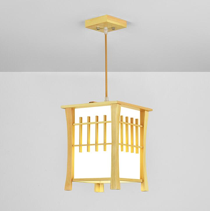 Japanese Pendant Light Washitsu Tatami Decor Pendant Lamp Restaurant Living Room Hallway Bedroom Indoor Lighting Home Design