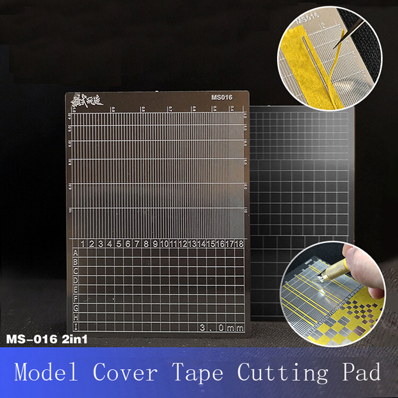 For Model Making Tools Gundom Transformation Tool Accessories Cover Tape Cutting Pad